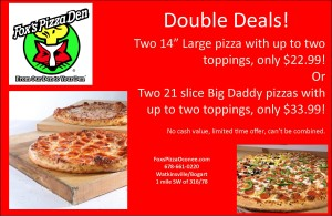 Double Deal coupos